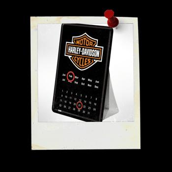 Kalender-Blechpostkarten