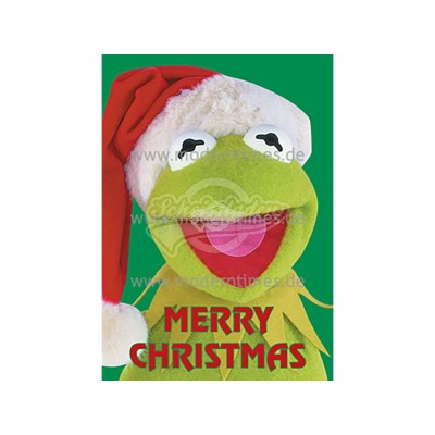"""Postkarte Weihnachten ARTCONCEPT © JIM HENSON PRODUCTIONS """"MERRY CHRISTMAS"""" - von Modern Times - scheissladen.com"""