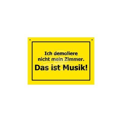 """Verbotene Schilder """"Musik"""""""