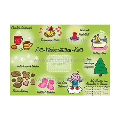 Postkarte Weihnachten ARTCONCEPT © ROEHE - von Modern Times - scheissladen.com