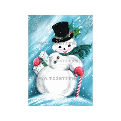 """Postkarte Weihnachten BIZARR © BIZARRWORLD """"SANTA CLAUS"""" - von Modern Times - scheissladen.com"""