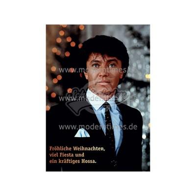 Postkarte Weihnachten ECKI DESIGN © INTERFOTO FRÖHLICHE WEIHNACHTEN - von Modern Times - scheissladen.com