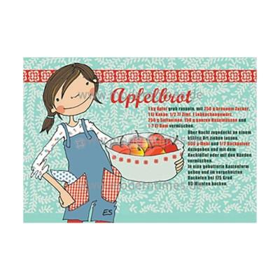 Postkarte Weihnachten ELKE SCHILLAI © KARTENKÜCHE APFELBROT - von Modern Times - scheissladen.com