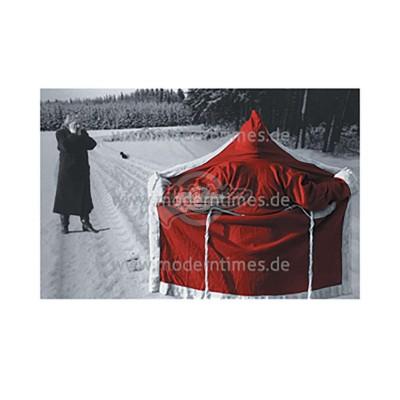 Postkarte Weihnachten HURAXDAX © STORZ - von Modern Times - scheissladen.com