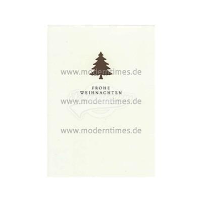 Postkarte Weihnachten KARTOENFABRIEK © LAMBREGS - von Modern Times - scheissladen.com