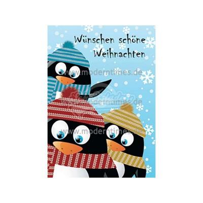 Postkarte Weihnachten KARTIGES WÜNSCHEN SCHÖNE WEIHNACHTEN - von Modern Times - scheissladen.com