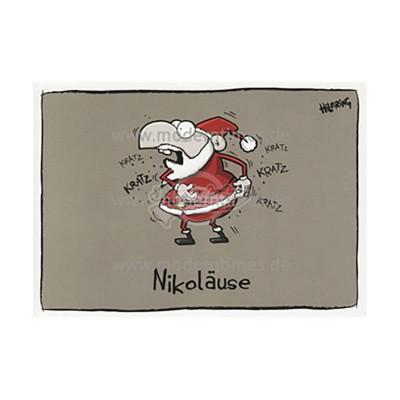 Postkarte Weihnachten KÖPENICKER CG © HILBRING - von Modern Times - scheissladen.com