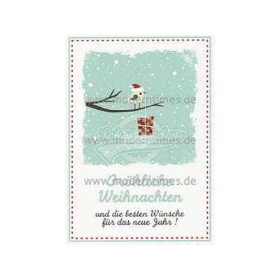 """Postkarte Weihnachten KARTIGES """"FRÖHLICHE WEIHNACHTEN UND DIE BESTEN WÜNSCHE"""" - von Modern Times - scheissladen.com"""