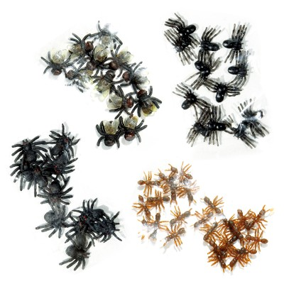 """Halloween """"Insektenmix"""" Spinnen, Fliegen oder Ameisen erhältlich"""