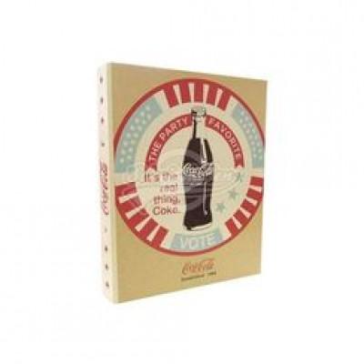 Coca Cola Ringbuch A4 im Retro-Design
