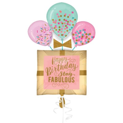 "Folienballon - Fabulous ""Happy Birthday"" 