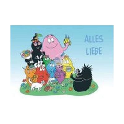"Postkarte ""Alles Liebe"" - Barbapapa"