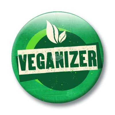 "Button ""Veganizer"""