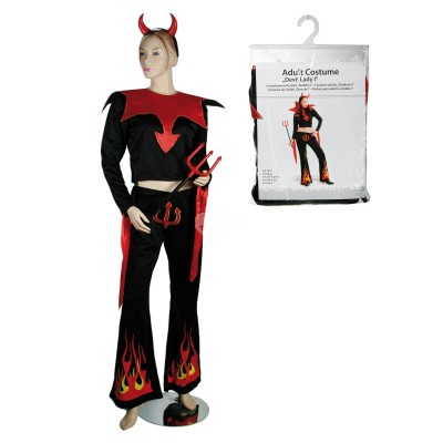 """Kostüm Damen """"Teufel"""" - versch. Größen"""