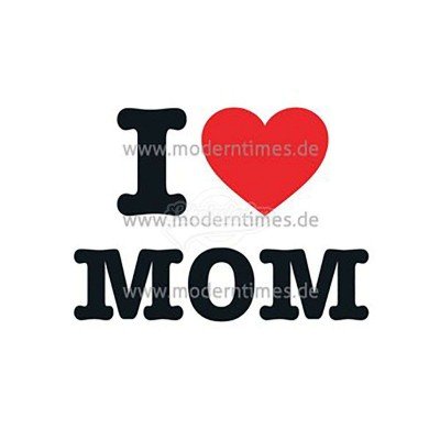"Postkarte ""I Love Mom"""