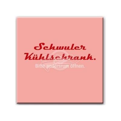 "Kühlschrankmagnet ""Schwul"""