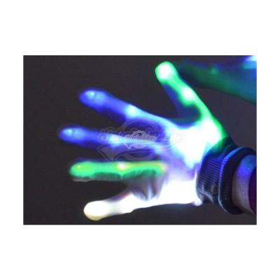 "LED-Handschuhe ""Knochen"""