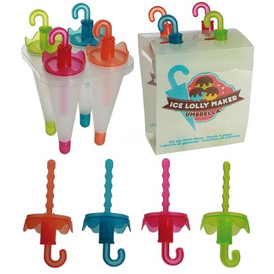 Ice Lolly Maker - Regenschirm Eisform