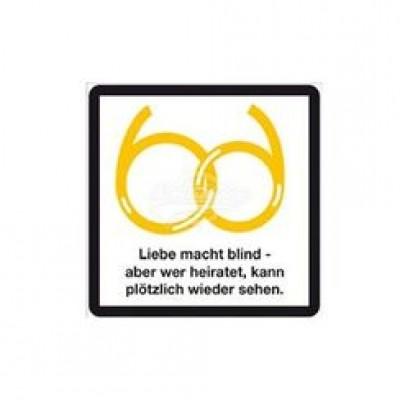 """Kühlschrankmagnet """"Blinde Liebe"""""""