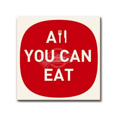 "Topfuntersetzer ""All you can eat"""