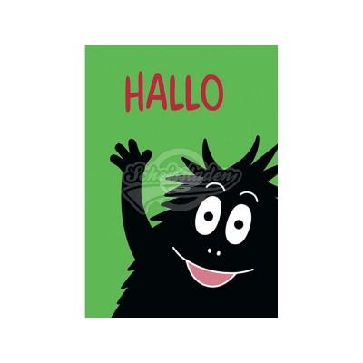 "Postkarte ""Hallo"" - Barbarpapa"