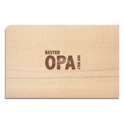"Holzpostkarte ""OPA"""