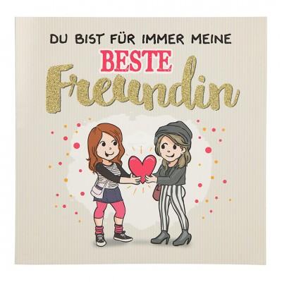 """Musikkarte Archies """"Du bist für immer meine beste Freundin"""""""