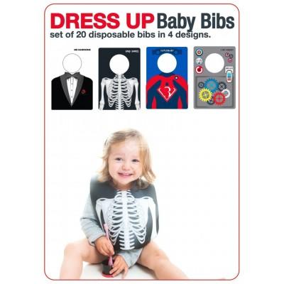 """Lätzchen abwaschbar """"Baby Bibs"""" - 4er Set"""