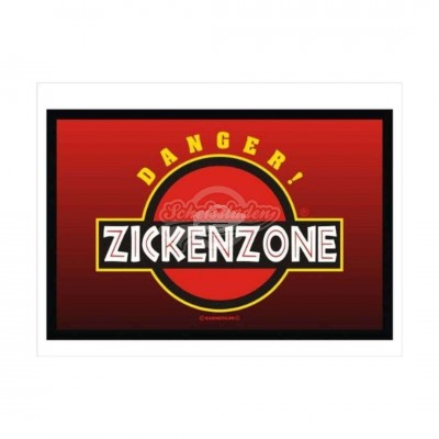 """Fußmatte """"Zickenzone"""""""