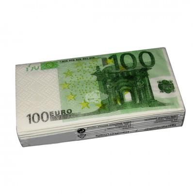 """Taschentücher """"100 Euro"""""""