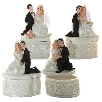 Hochzeitsdose Brautpaar - versch. Designs