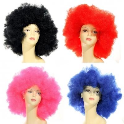 Perücke -Afro, versch. Farben