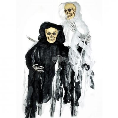 """Halloween """"Sensenmann mit Licht zum Hängen"""" in versch. Farben erhältlich"""