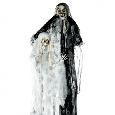 "Halloween ""Sensemann Skulls"" zum Aufhängen"