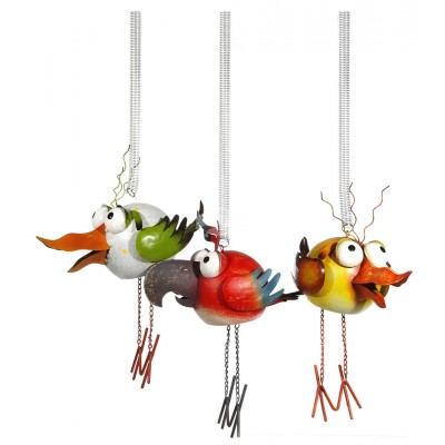 """Vogel mit Federung """"Birdy"""" - versch. Farben"""