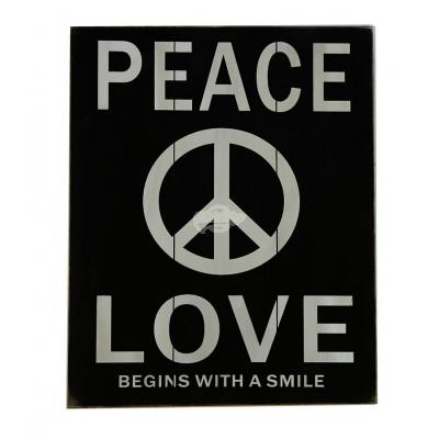 """Bild """"Peace und Love"""""""