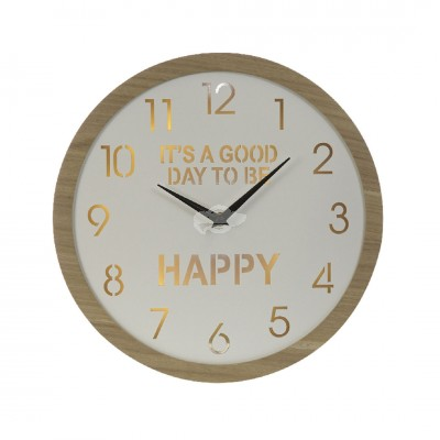 "Wanduhr ""Happy"""