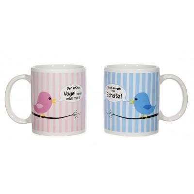 """Kaffeebecher """"Vogel"""" - versch. Designs"""
