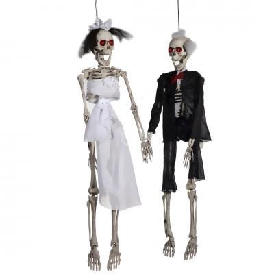 """Halloween """"Skelett Hochzeit"""" - Braut oder Bräutigam"""