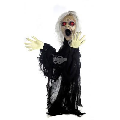"""Halloween Zombie """"Schreiende Frau"""""""