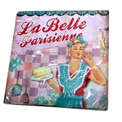 "Servietten Retro ""La Belle"""