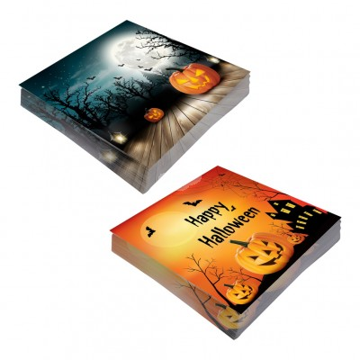 "Servietten ""Halloween"" - 20tlg - versch. Designs"