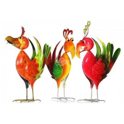 """Gartendekoration """"Bunter Vogel"""" - versch. Farben"""