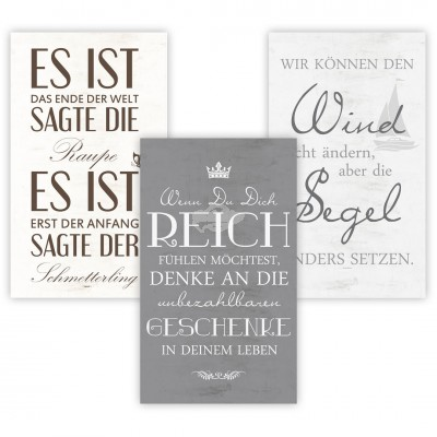 Bild mit Spruch ''Motivation'', versch. Designs