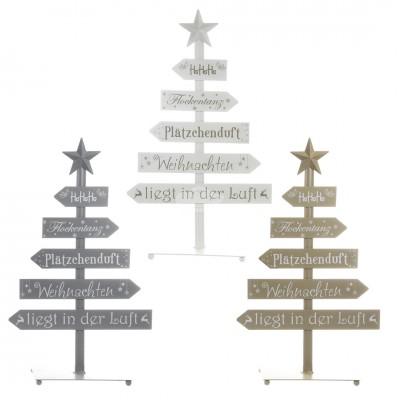 Aufsteller ''Weihnachtsbaum'' - versch. Farben