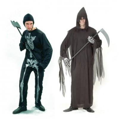 """Kostüm """"Sensenmann"""" - versch. Größen"""