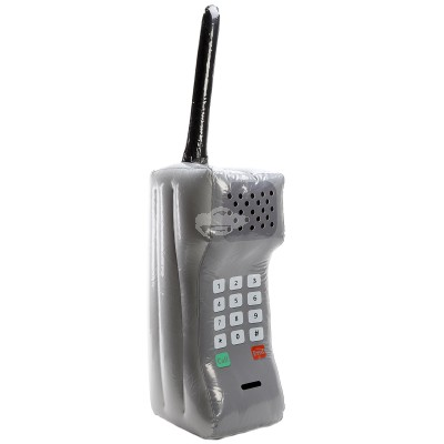 Aufblasbares Retro Mobiltelefon XXL, ca. 90 cm