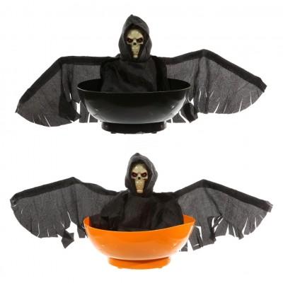 """Halloween """"Fliegender Sensenmann"""" Schale, animiert"""