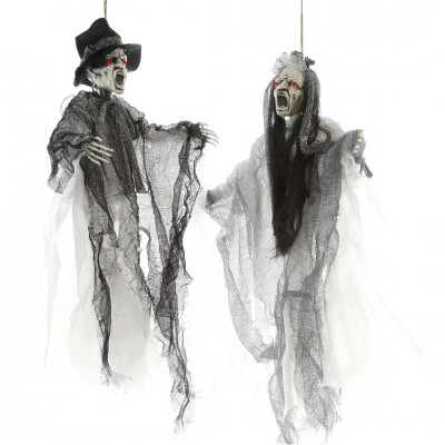 "Halloween Zombie ""Brautpaar"" - Braut oder Bräutigam - 45 cm"
