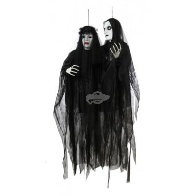 """Halloween """"Brautpaar des Fegefeuer"""" - versch. Design: Braut oder Bräutigam"""